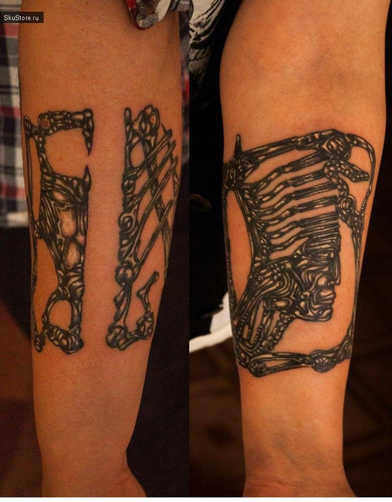 Примеры татуировок