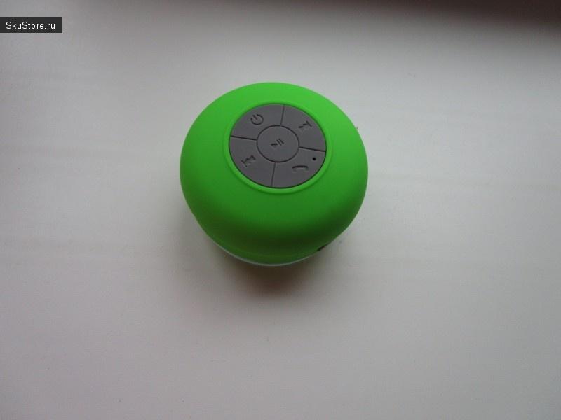 Bluetooth-колонка на присоске для ванной комнаты