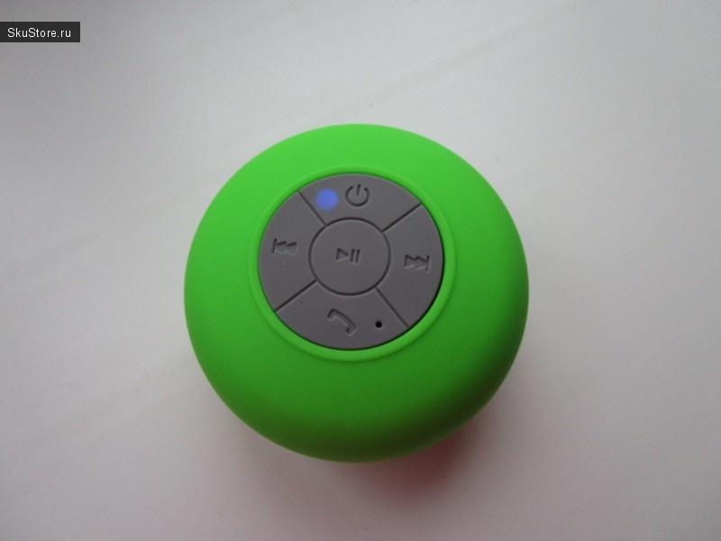 Индикатор на Bluetooth-колонке
