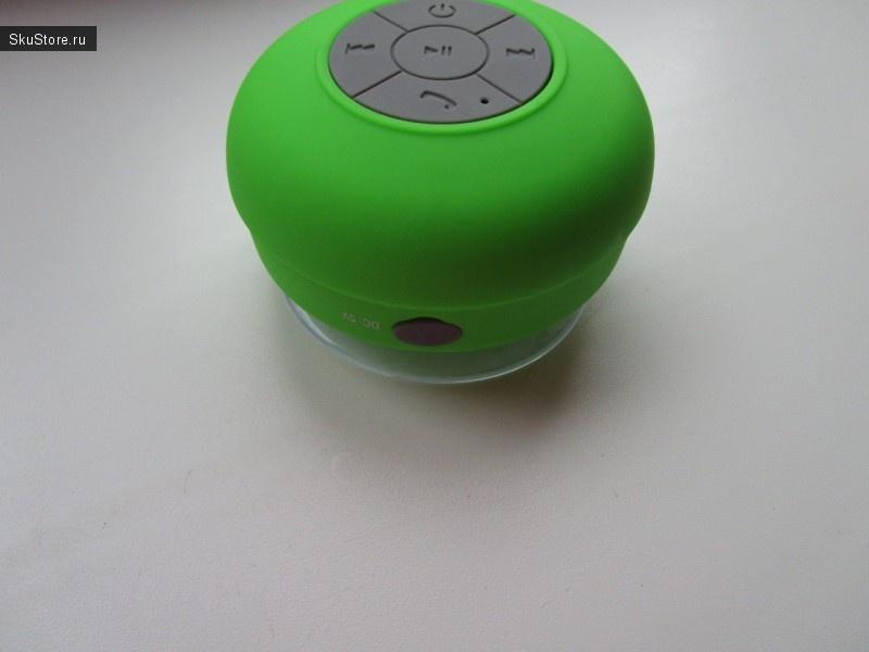 Вход для зарядки Bluetooth-колонки