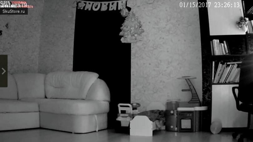 Поворотная IP-камера SANNCE 720 P - примеры