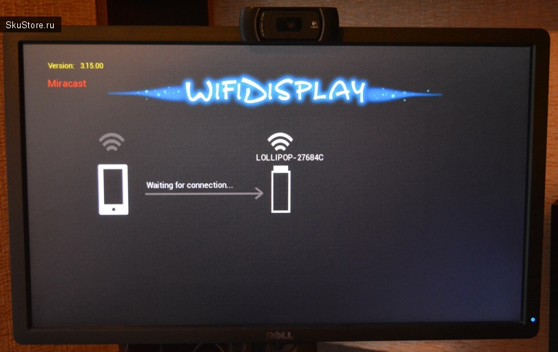 Адаптер Wi-Fi Display Dongle