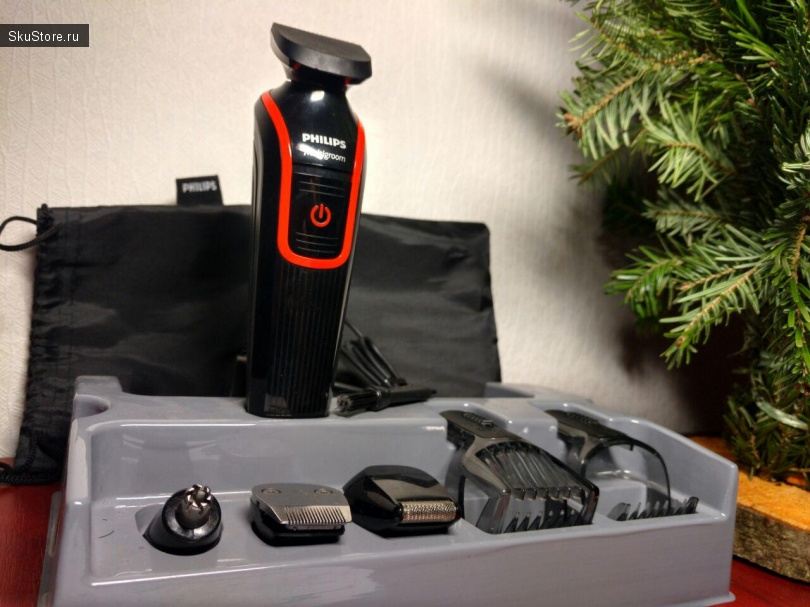 Бритва Philips Norelco QG3330 Multigroom