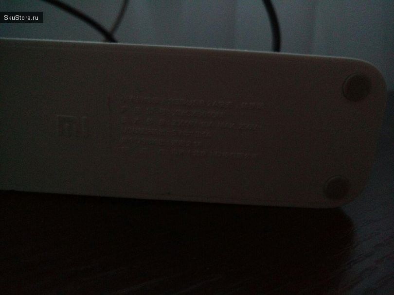 Xiaomi Mi Power Strip с Aliexpress