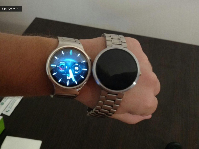 HUAWEI SMART WATCH - смарт-часы на Android Wear