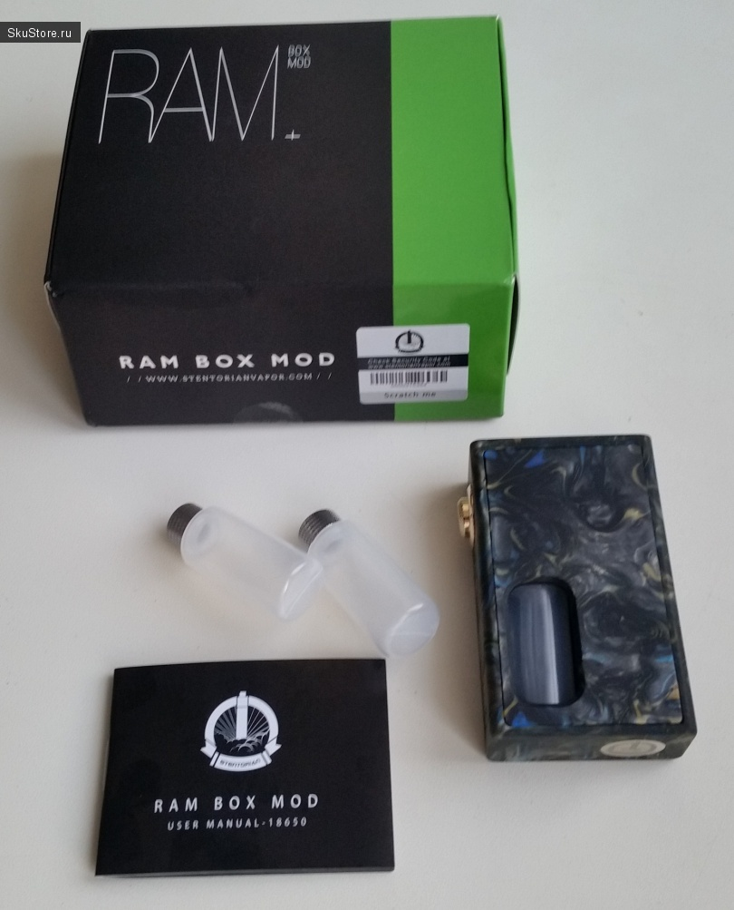 Wotofo Stentorian RAM Squonk Mechanical Box Mod